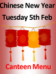 Chinese New Year Canteen Menu