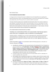 Click here to view the Non Examined Assessments (NEAs) letter