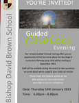 You're Invited! Guided Choices Evening. Please click here to find out more.