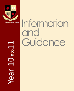 Year 10 into 11 Information and Guidance 2018