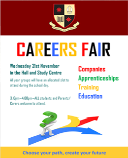 Careers Fair 21st November